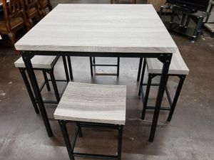 5 pc counter height dinette set for Sale in Sacramento, CA