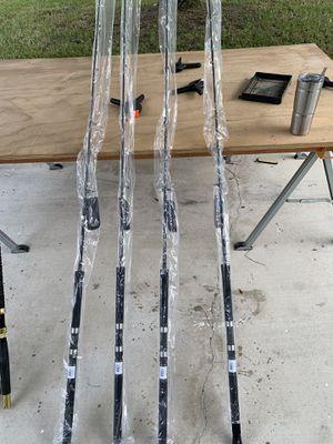 4 Brand new Okuma Cortez 7' rods 20-30lb class fishing rods for Sale in West Palm Beach, FL