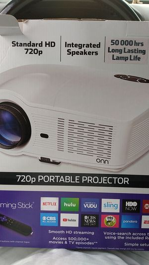 PORTABLE PROJECTOR for Sale in Seattle, WA