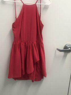 Pink Halter Low Back Dress for Sale in Highland,  MD