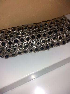 Vintage925 silver&black onyx bracelet for Sale in Layton, UT