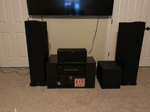 Klipsch entertainment system for Sale in Clayton, NC