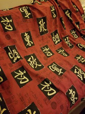 Chinese Character Futon Cover for Sale in Montverde, FL