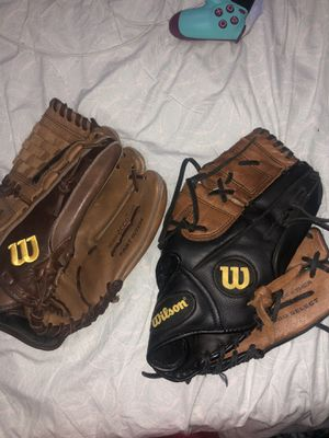 Wilson baseball gloves for Sale in CT, US