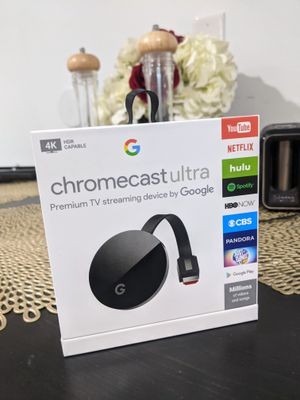 Google Chromecast Ultra with 4K for Sale in Hyattsville, MD