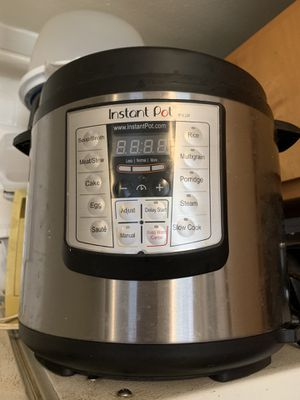 Instant Pot Rice Cook for Sale in Austin, TX