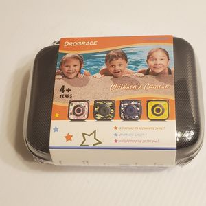 DROGRACE Children Kids Camera Waterproof Digital Video Action Camera. Color Navy blue. New, sealed. for Sale in Saratoga, CA