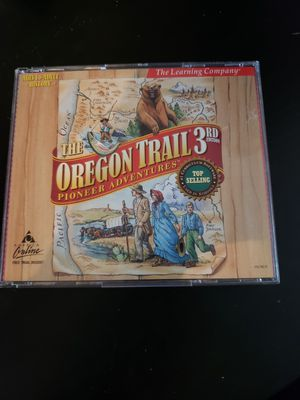 Oregon Trail 3rd edition computer game for Sale in Portland, OR