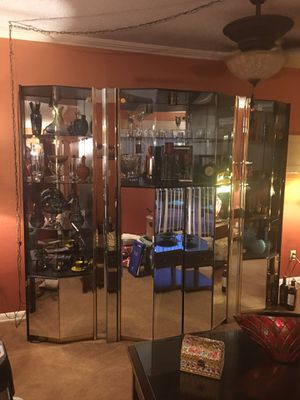 Art Deco Waterfall Mirrored Eterge for Sale in Fort Myers, FL