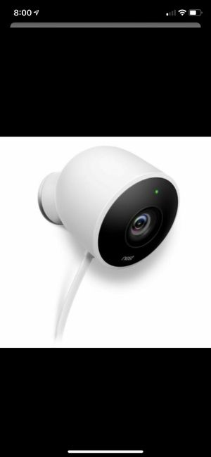 Nest camera outdoor 1080p for Sale in Santa Ana, CA