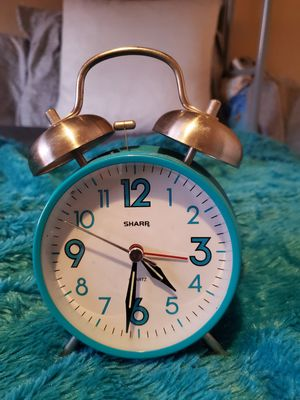 Blue Vintage Alarm Clock for Sale in Lincoln Acres, CA