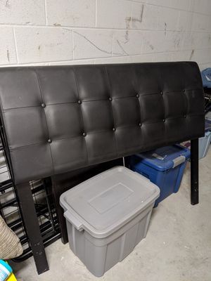 Headboard and frame for Sale in Milton, WV