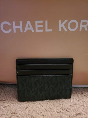 Brand new Navy Michael Kors Card Case for Sale in Sacramento, CA