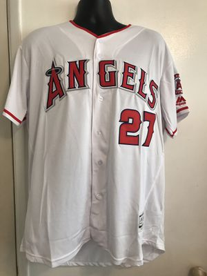 Angels baseball ⚾️ jerseys for sale style for man sizes large, xlarge, xxlarge and xxxlarge for Sale in Montclair, CA