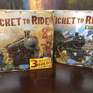 Ticket To Ride Games for Sale in Santa Ana, CA