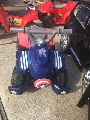 Captain America Power Quad for Sale in Houston, TX