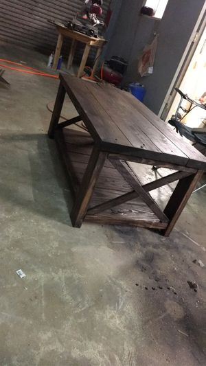 Rustic coffee table for Sale in Corpus Christi, TX