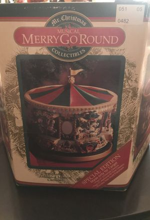 Mr. Christmas musical merry-go-round collectible for Sale in Durham, NC