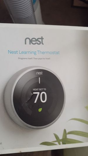 Nest Learning Thermostat item :T3007ES for Sale in Hamilton, OH