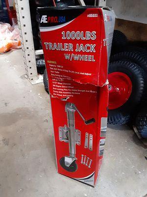 1000 lbs. Trailer Jack with wheel/ llanta para traila for Sale in San Diego, CA