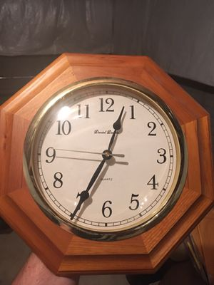 Wooden wall clock for Sale in Columbus, OH