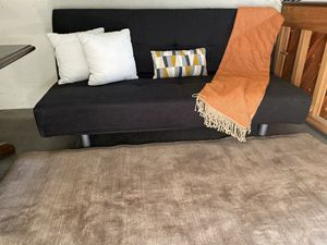 New black convertible futon $180 for Sale in Modesto, CA