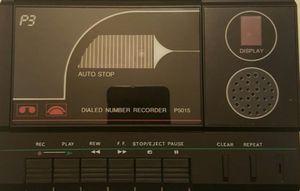 Dailed Number & Recorder for Sale in Atlanta, GA