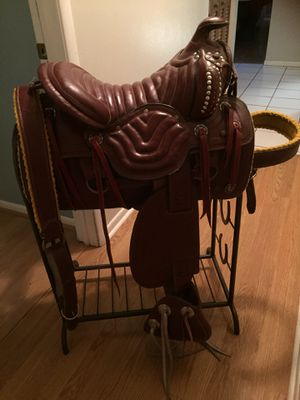 Argentinian ranch saddle for Sale in Southwest Ranches, FL