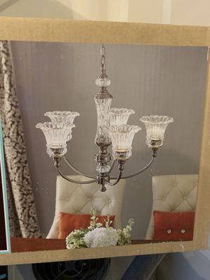 Brand new chandelier (Lowe's) for Sale in Ridgefield, WA