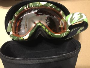 Electric snow goggles (green/brown/white) $60 for Sale in Industry, CA