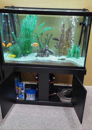 Complete 130 gallon aquarium setup for Sale in Lititz, PA