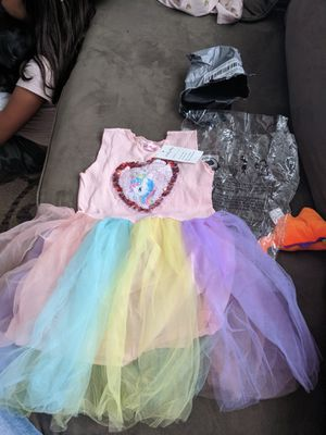 Unicorn dress for Sale in Beaumont, CA