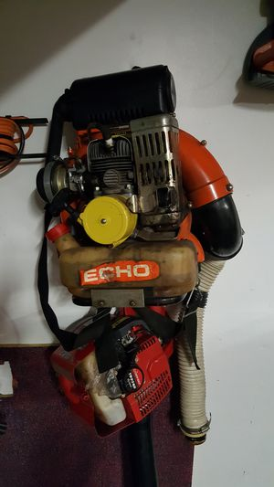 Echo BackPack blower and Chainsaw for Sale in Poulsbo, WA