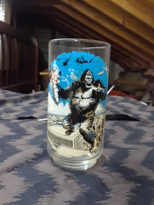 Vintage McDonald glass movie cup King Kong for Sale in Louisville, KY