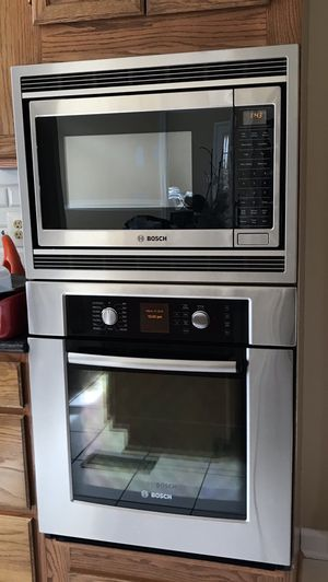 Bosch oven & Bosch microwave for Sale in Clifton, VA