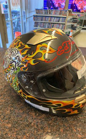Ed hardy motorcycle helmet for Sale in Austin, TX