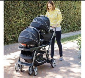 New inbox graco double stroller 12options for Sale in Las Vegas, NV