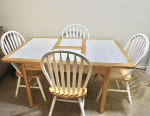 Table and 4 chairs for Sale in Annandale, VA