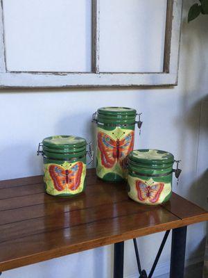 La Dolce Vita Ceramic Storage Canisters for Sale in Great Falls, VA