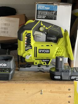 Ryobi 18v Jig Saw With Battery And Charger Brand New Condition for Sale in Plant City,  FL