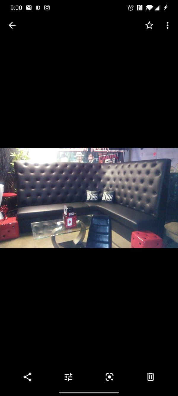Large Club Couch.