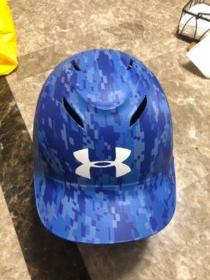 "Under Armour Baseball UABH-100 MC-C RO Batting Helmet Size 6-1/2 7-1/2"" Blue for Sale in Hawthorne, CA"