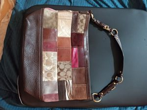 Coach leather patchwork for Sale in Everett, WA