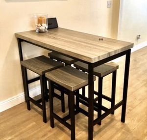 New 5 Piece Counter Height Set for Sale in Fresno, CA