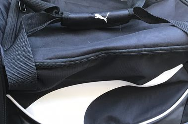 Puma Duffle Bag (Black ) - Great Condition for Sale in Temecula,  CA