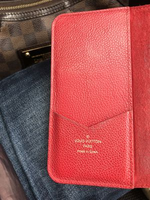Louis Vuitton Leather Phone Case (for iPhone X) for Sale in Cleveland, OH