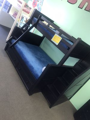 High quality twin overfull bunk bed. Color choice for Sale in Glendale, AZ
