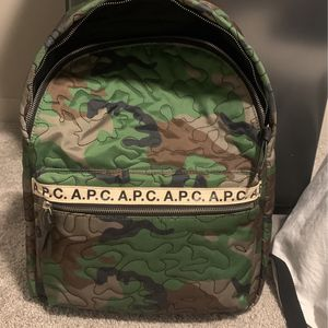 A.P.C. Backpack Camo for Sale in Lynnwood, WA