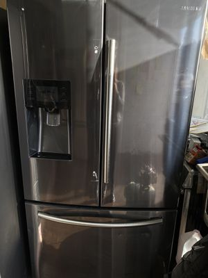 Samsung French style black stainless steel for Sale in Santa Ana, CA