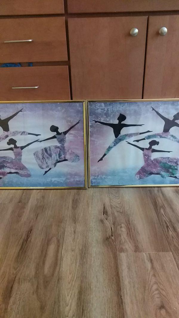 Six Ballerinas Wall Art